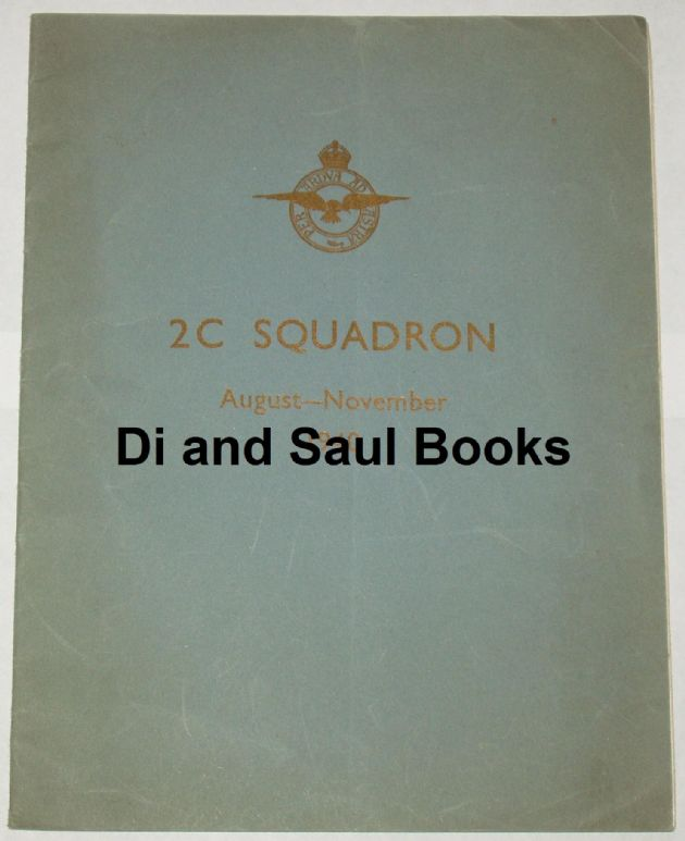 2C Squadron, August-November 1940 (RAF No.10 Recruit Centre)